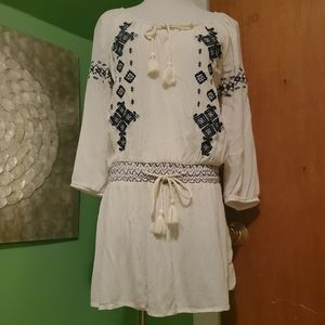 Maurices Embroidered Tunic